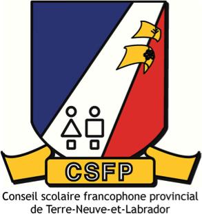 Logo Conseil scolaire francophone provincial de terre neuve et labrador