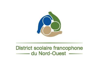 Logo District scolaire francophone du nord-ouest