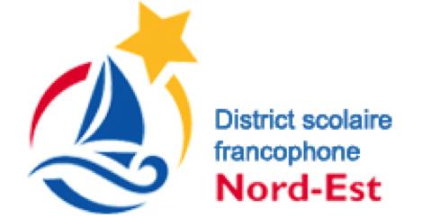 Logo District scolaire francophone Nord-Est