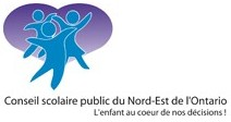 Logo CS public du Nord-Est de l'ontario