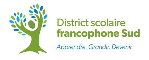 Logo district scolaire francophone sud