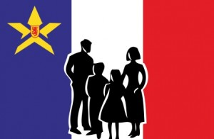 Logo Fédération des parents acadiens de la Nouvelle-Écosse