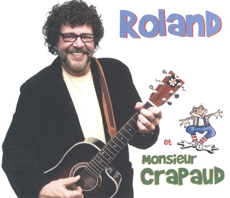 Couverture Roland Gauvin - Roland Et Monsieur Crapaud